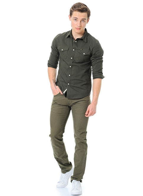 Lee Pantolon | Slim Yeşil